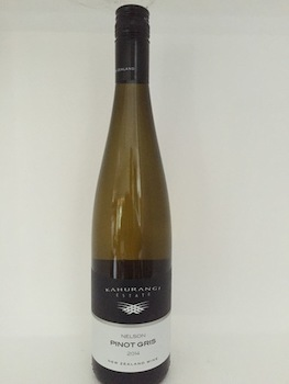 Pinot Gris - New Zealand-France-Italy: Kahurangi Nelson Pinot Gris 2017