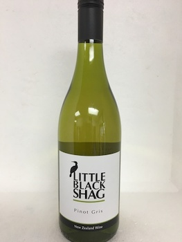 Pinot Gris - New Zealand-France-Italy: Little Black Shag Nelson Pinot Gris 2016