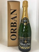 Champagne-Prosecco-NZ Methode and other Bubbly wine : Champagne  Orban Blanc de Noirs  Brut N.V (gift box included)